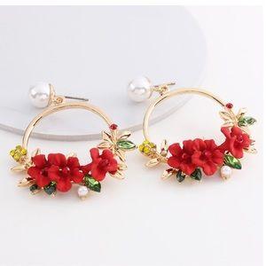 🔥LAST ONE🔥Enamel Flower Earrings